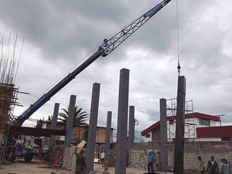 departamentos en quito - montaje de estructuras